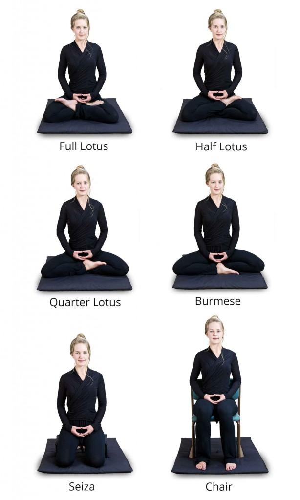meditation-postures