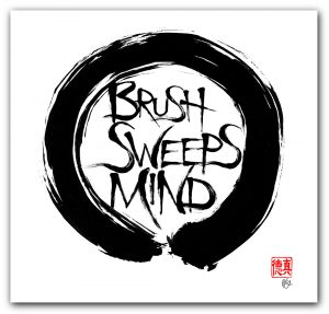Brush Sweeps Mind